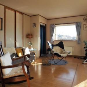 未だ迷走中・・・・。長野の家の多目的部屋・・・・。インテリアのテイストが定まらない・・・。