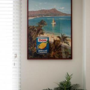 50年代! ハワイ ドールのビンテージポスターが素敵です!