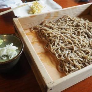 10日間の長野での生活の締めは「おっこと亭」の蕎麦!!