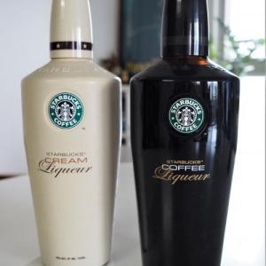スターバックスのコーヒーリキュール&クリームリキュール!ボトルも可愛い!