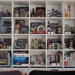 マンションリノベで作った飾り棚で大切なコレクションを飾る!