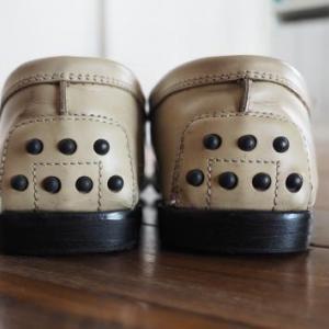 足になじんだトッズの靴を直して直して10年選手!
