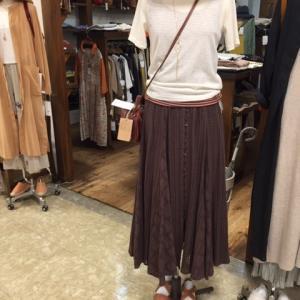 夏のファッションコーディネイト。