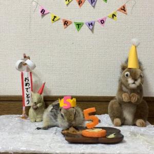 5歳の誕生日でのこと