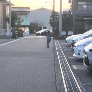 自転車に乗る!