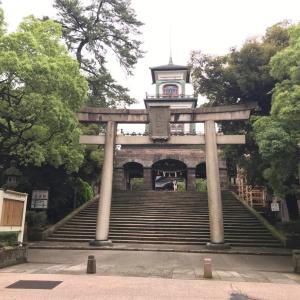 茅の輪くぐり@尾山神社