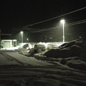 今週も大雪!
