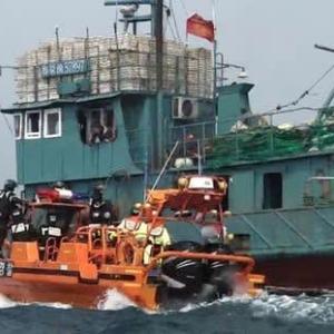 北朝鮮 中国漁船へのスルメイカ漁業権売却 CV19で停止