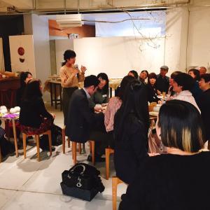 山田晋一朗さんのワイングラスのイベントを開催いたしました。