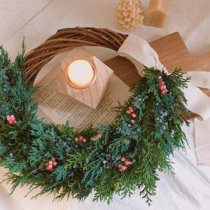 クリスマスリース:*・゚☆森林の香り〜