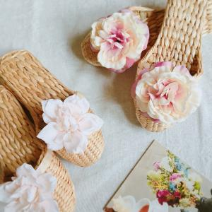 夏用❁お花スリッパ