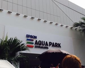 夏休み真っ只中、エプソン品川アクアスタジアムに行ってきました