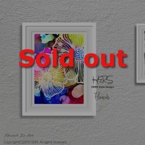 自己満アートが、Sold out♩