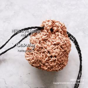 【かぎ針編み】ミニ巾着、人気で嬉しい❤︎(飴ちゃんポーチ)