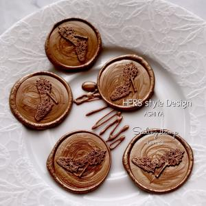 チョコレート⁈、作りました〜( ´艸`)
