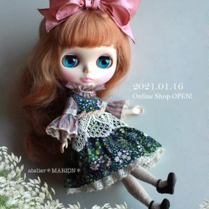 *Online Shop 予定お知らせ*