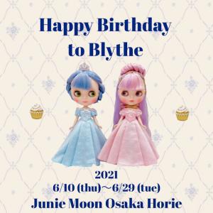 Junie Moon大阪・堀江店『 Happy Birthday to Blythe』展