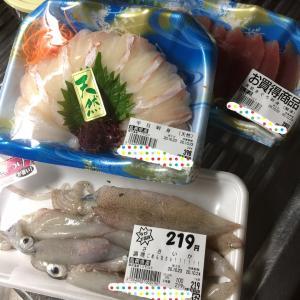 【福岡発】福岡でお安いお刺身とイカで