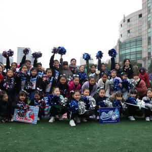 2019上海少年少女サッカー大会COPA2nd キッズチアチーム応援にいきます!