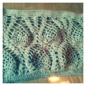 ヘンプカバン 編み始めました