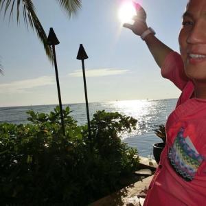 ハワイの太陽と日本の太陽