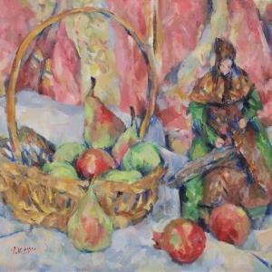 サントンと果物