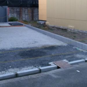 氣功整体夢・駐車場作成中。
