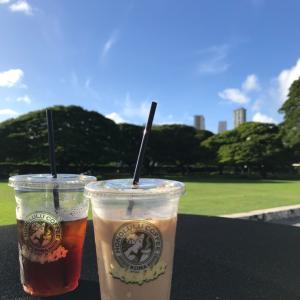 ハワイ2日目 マラサダ、公園