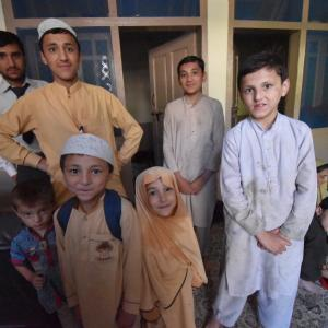 パキスタンで初のホームステイ