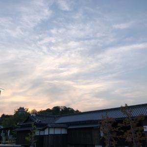 今夜も和歌山城ラン!
