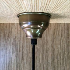 大正浪漫テイスト 真鍮製 シーリングカップ ('∇^d)