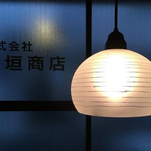 昭和レトロ 時代硝子 うずまき模様のランプシェード ('∇^d)