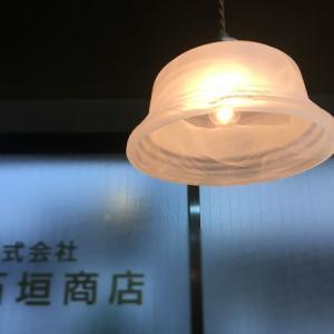 モダンレトロ ホワイトマーブル柄のランプシェード ('∇^d)