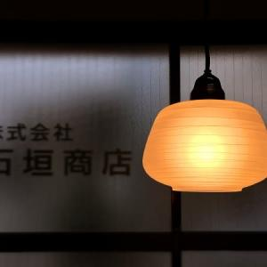 昭和レトロ 丸富士型の電燈笠  あけぼの ('∇^d)