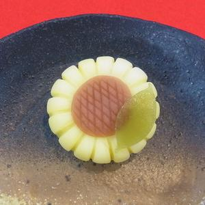 ひまわり 夏の上生菓子