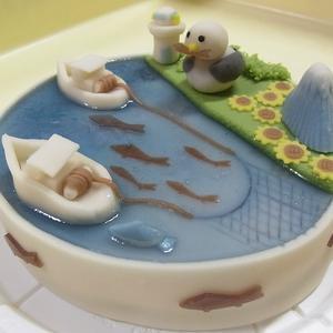 和菓子ケーキのご注文(漁師) オーダーメイド 練り切り