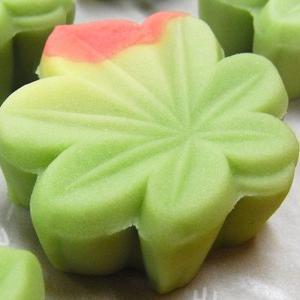 薄紅葉(練り切り)  秋の上生菓子