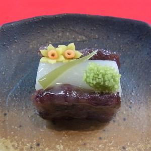 黄水仙 冬の上生菓子
