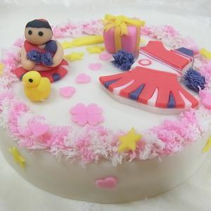和菓子ケーキのご注文(チア) オーダーメイド 練り切り