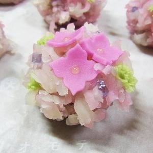 紫陽花(きんとん製) 初夏の上生菓子