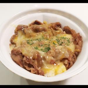 すき家☆「チーズ牛カルビ丼」♪