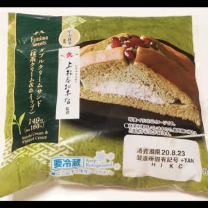 ファミリーマート☆「ダブルクリームサンド(抹茶クリーム&ホイップ)」♪