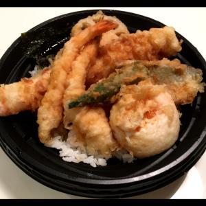 和食さと☆テイクアウト「ちく玉海老天丼」♪
