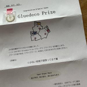 グルーデコ協会より【グルーデコプライズ Gluedeco Prize】頂きました♡