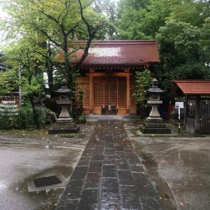 千住氷川神社で秩父と京都、江ノ島気分
