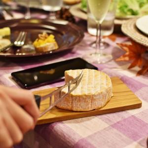 秋のチーズレッスンは、柿やサツマイモも登場しますよ♪