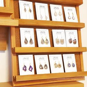 天然石ドゥルージーのアクセサリーも販売中!セール品も♪<Atelier陶華器展>