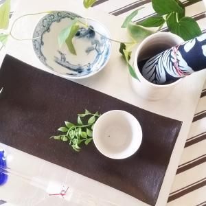手拭いを使いこなす!夏のテーブルで使う方法