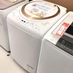 【商品紹介】高年式‼‼TOSHIB Zaboon 全自動洗濯機 9kg AW-9V 2018年製
