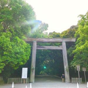 熱田神宮へ行ってきました